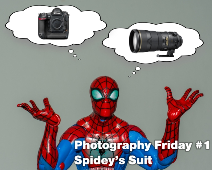 Photography Friday #1 – Spidey's Suit
